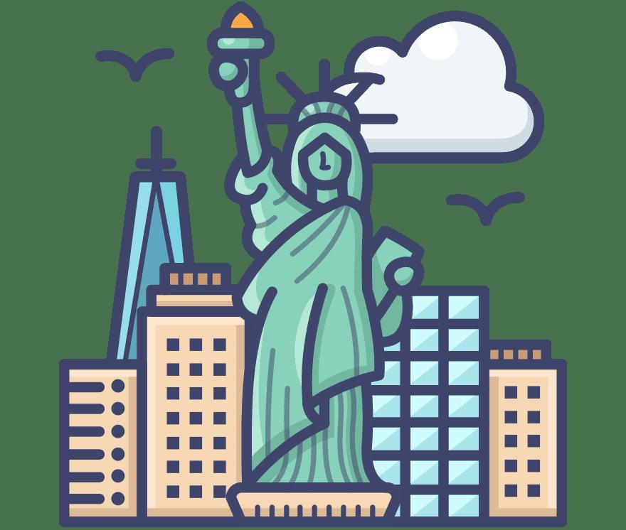 Τα καλύτερα 17 Live καζίνο στη(ο) Ηνωμένες Πολιτείες το 2021
