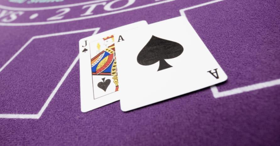 Ζωντανή εθιμοτυπία Blackjack και εξήγηση συμβουλών: Πώς να συμπεριφερθείτε